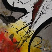 Abstract Art Painting by Abstract Artist Claudie Bastide