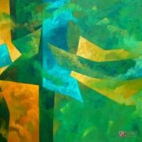 Abstract Artist Juan Jose Catalan