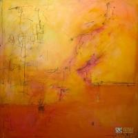 Abstract Artist Laura Warburton