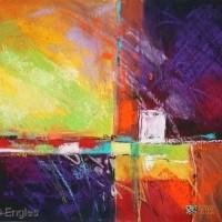 Abstract Artist Carol Engles