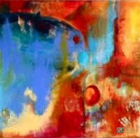 Abstract Artist Jan Corcoran