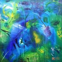 Abstract Artist Stuart Kirby