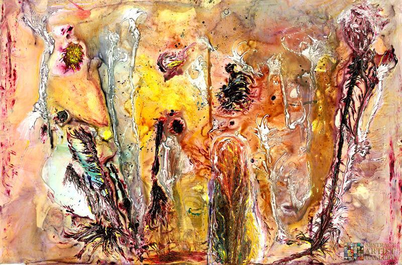 Abstract Artist Valorie Preston