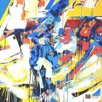 Abstract Artist David J. Leblanc