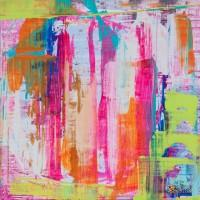 Abstract Art Painting by Lindsay Cowles