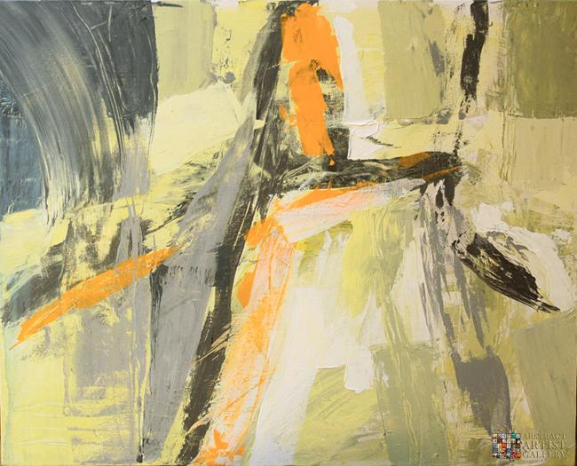 Abstract Artist Linda Sherman