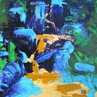 Abstract Artist Megan Rieke