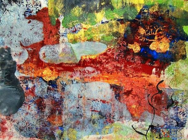 Abstract Artist Diana Farace