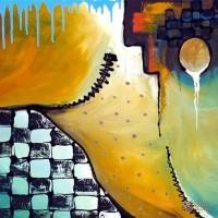 Abstract Artist Marina Rehrmann