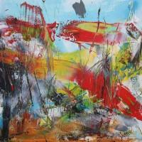 Abstract Painting by Abstract Artist Jan van Oort