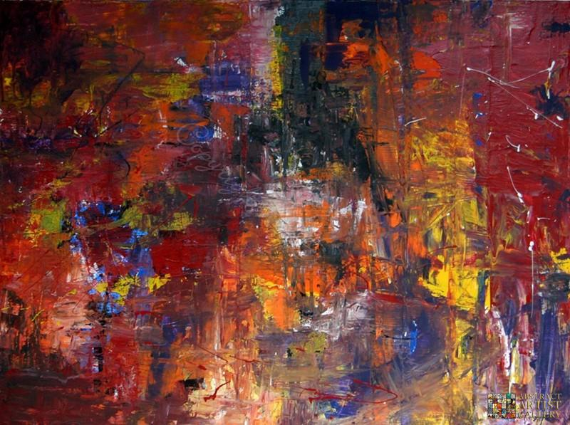 Abstract Artist Ernie Ferguson