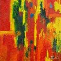 Abstract Artist Ernie Ferguson