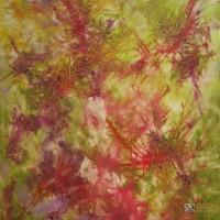 Abstract Art Susan Prinz Lime Zest