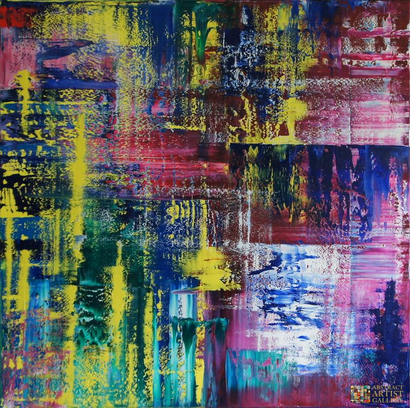 Abstract Art Painting by Abstract Artist Ansgar Dressler