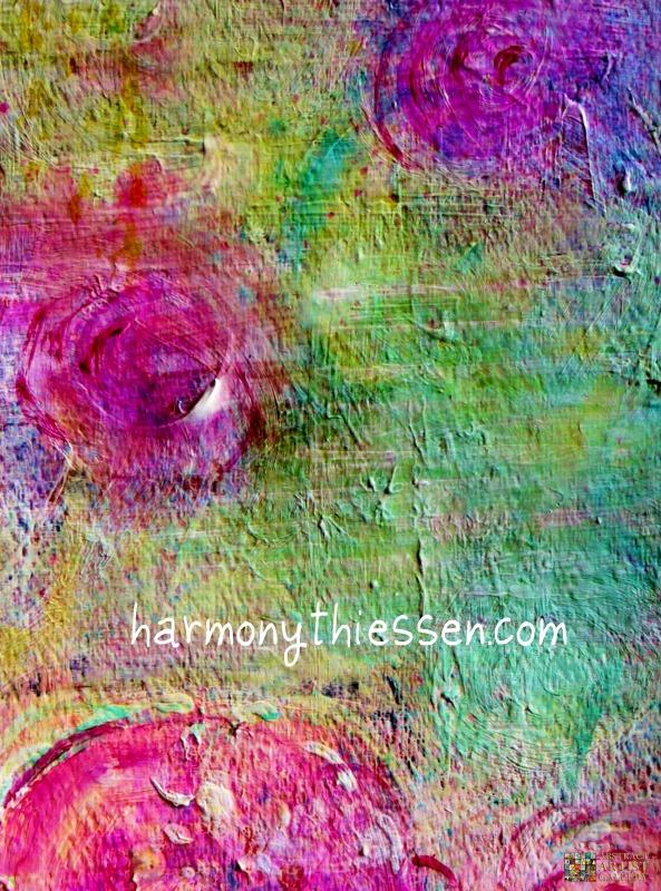 Abstract Art Painting by Abstract Artist Harmony Thiessen