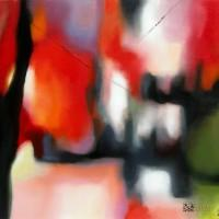 Abstract Art Painting by Abstract Artist Mary Chaplin