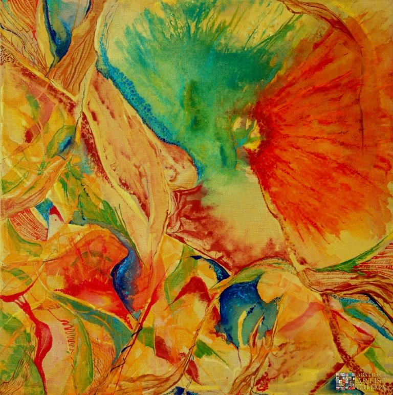 Abstract Art Painting by Dorit Ruff