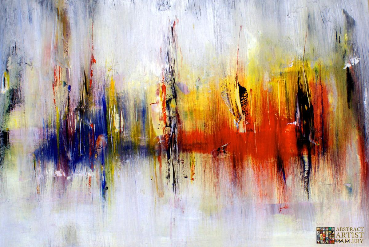 Abstract Art Gallery - Painting by Mirza Zuplijanin