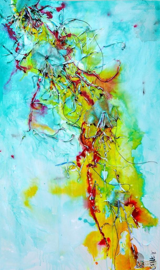 Abstract Art Painting by Cristina White-Jones