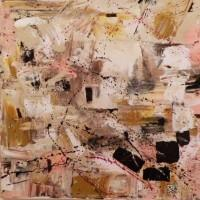 "Abstract Art Painting ""Cappuccino"" by S.A. Barone (S.A. Barone)"