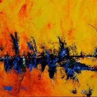 Abstract Art Painting by Sabina D'Antonio