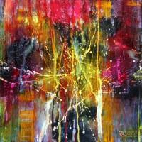 Abstract Art Painting by Tadeusz Machowski