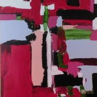 Abstract Art Painting by Abstract Artist S.A. Barone