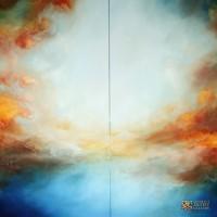 Abstract-Art-Painting-Paul-Bennett-Waiting-for-Forever