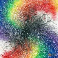Abstract-Art-Rainbow Artist-Orlando-L-8