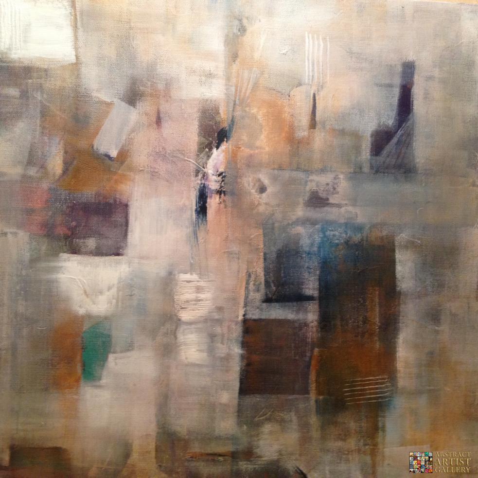 Francesco lipani for Abstract art mural
