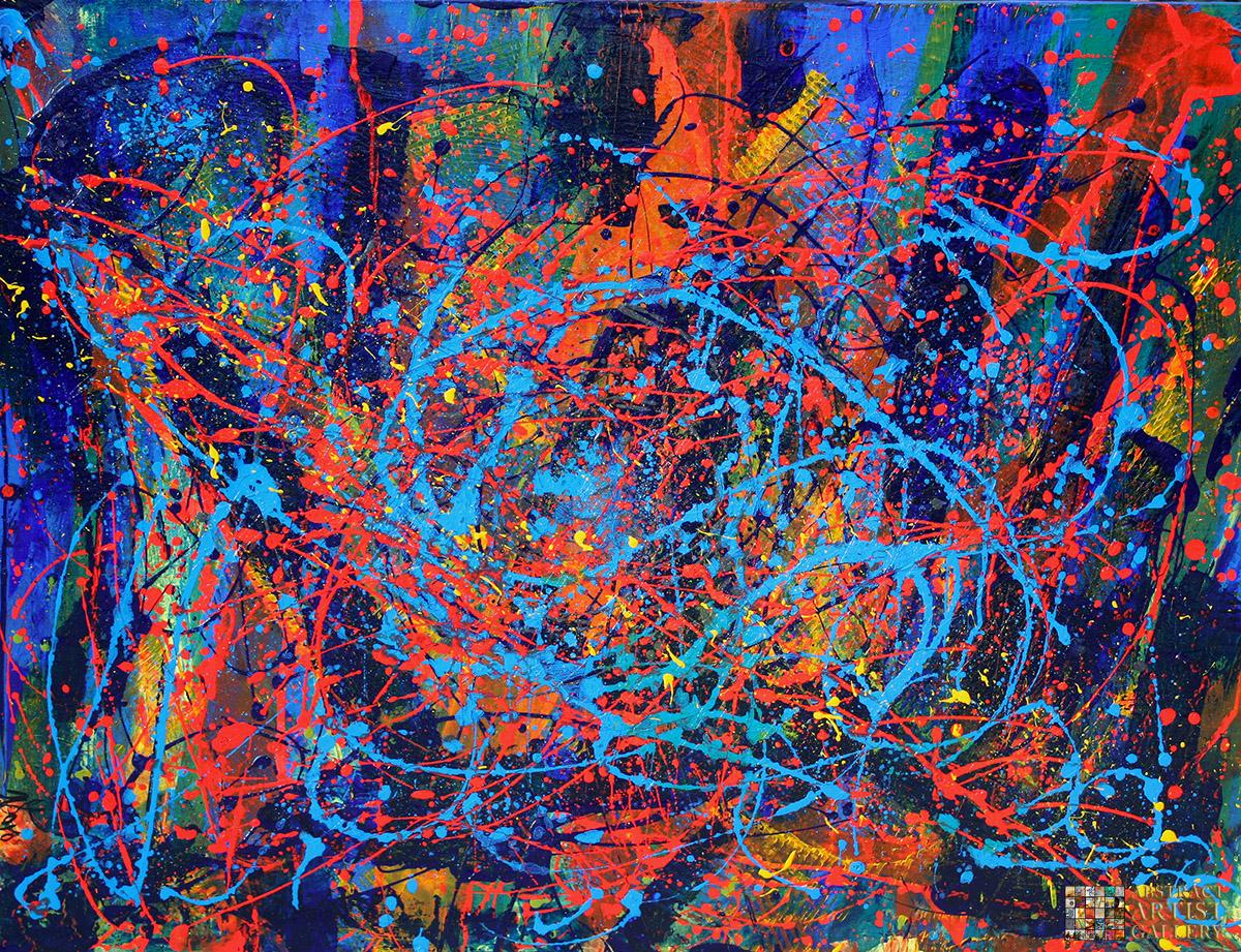 Abstract Art Painting by Nestor Toro
