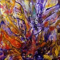 Abstract Art Painting by Nestor Toro