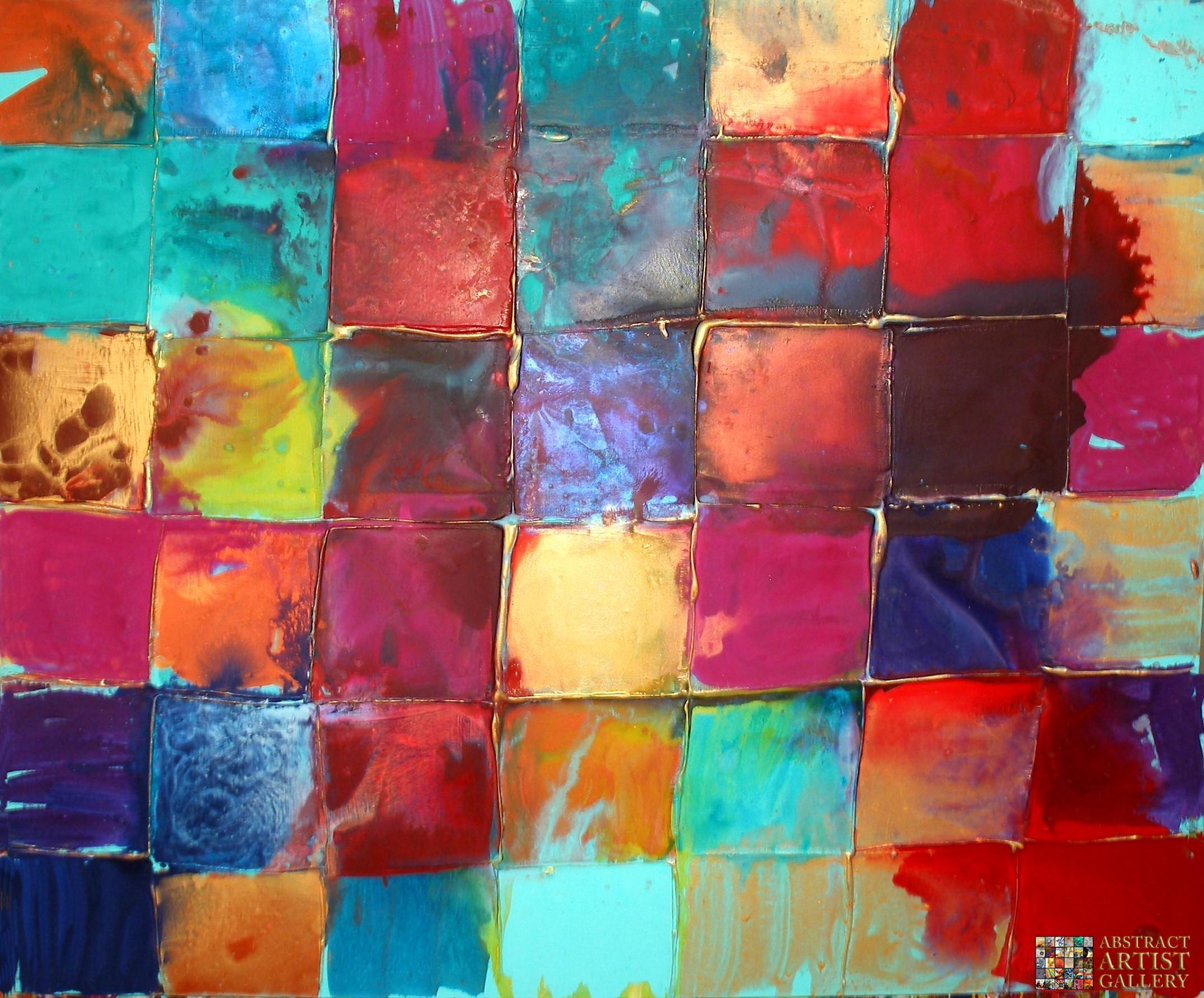 Caroline ashwood for Abstract art mural