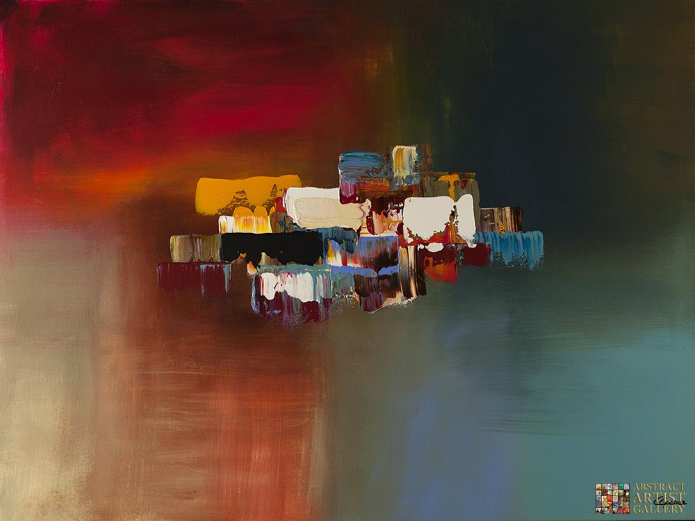 """Abstract Art Painting """"Dream"""" by Carmen Guedez"""