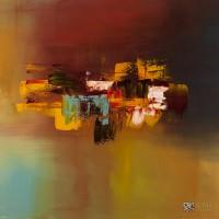 """Abstract Art Painting """"Imagine"""" by Carmen Guedez"""