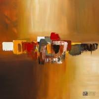 "Abstract Art Painting ""Moda"" by Carmen Guedez"