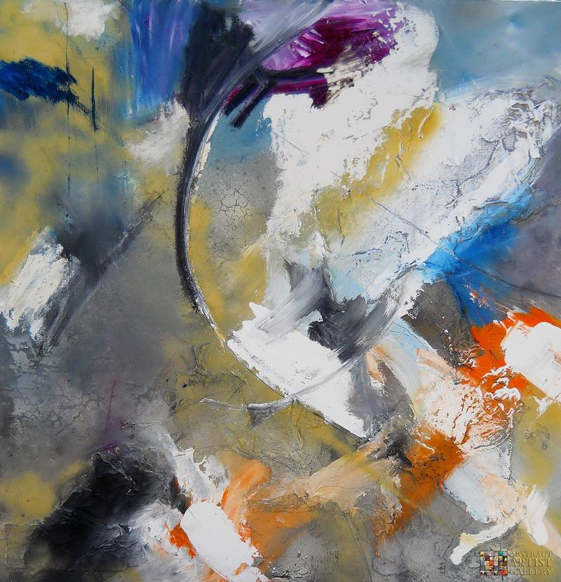 Abstract-Artist-Lucie-Beardwood-Art-Painting