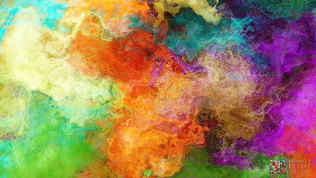 Large Abstract Art Painting Cianelli