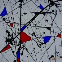 No 09 - Abstract Painting by Wayne Marto