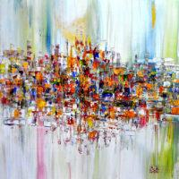 Mirza-Zupljanin-Abstract-Painting-City