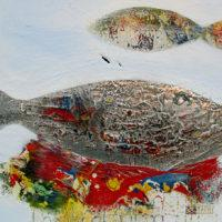 Mirza-Zupljanin-silver-fish-abstract-artist-gallery